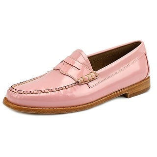 GH Bass & Co Whitney Women Round Toe Leather Pink Loafer