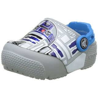 Crocs Kids' Fun Lab Light-up R2D2 Clog - 4 m us toddler
