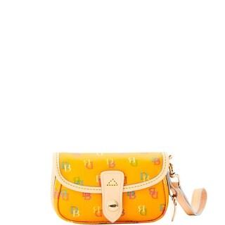 Dooney & Bourke It Flap Wristlet (Introduced by Dooney & Bourke at $45 in Apr 2016) - Tangerine