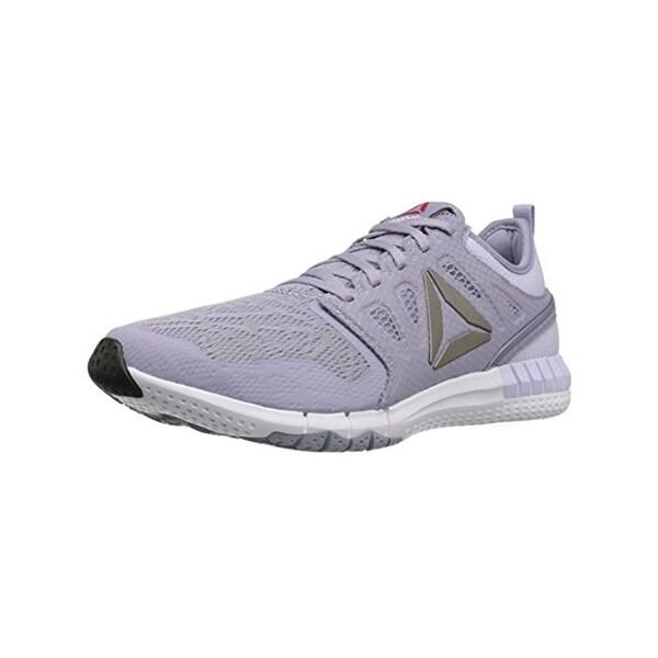 Reebok Womens Z Print 3D Running Shoes Trainer Low Top - 9.5 medium (b,m)