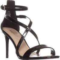 Nine West Retilthrpy Strappy Sandals, Black
