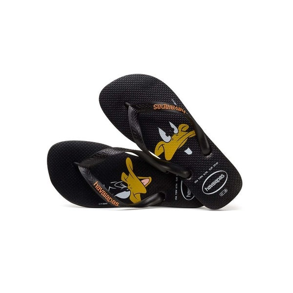 8d6837708 Shop Havaianas Mens Daffy Duck Slip On Open Toe Flip Flops