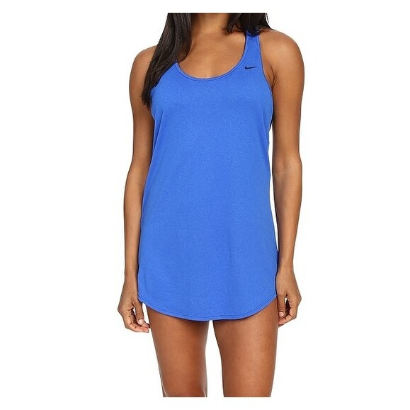 90d6f35e8b1a2 Shop Nike NEW Hyper Cobalt Blue Womens Size XL Tank Dress Cover-Up Swimwear  - Free Shipping On Orders Over $45 - Overstock - 20737918