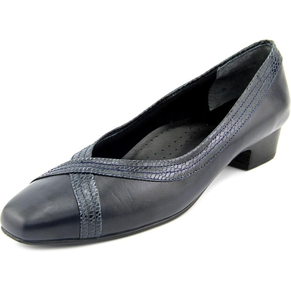 Mark Lemp By Walking Cradles Tracy Navy Pumps