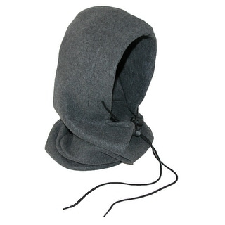 CTM® Fleece  5 in 1 Hood Balaclava Face Mask - One size