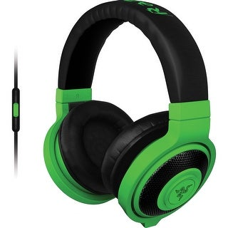 Refurbished - Razer Kraken Mobile Headphone w/ Detachable In-Line Mic RZ04-01400100 Neon Green