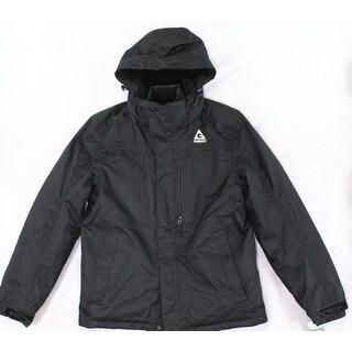 Gerry NEW Black Men Medium M Full Zip Water Resistant Double Jacket Set