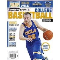201516 Athlon Sports College Basketball Magazine Preview UCLA Bruins Cover