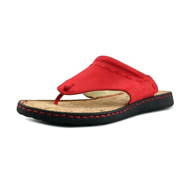 La Plume Metro Women Red Sandals