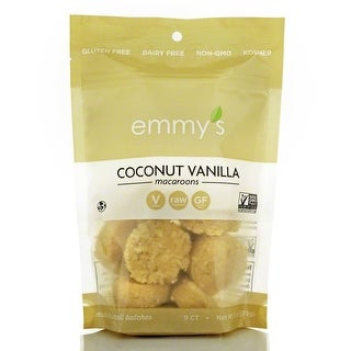 Emmy's Macaroons - Coconut Vanilla - Case of 12 - 2 oz.