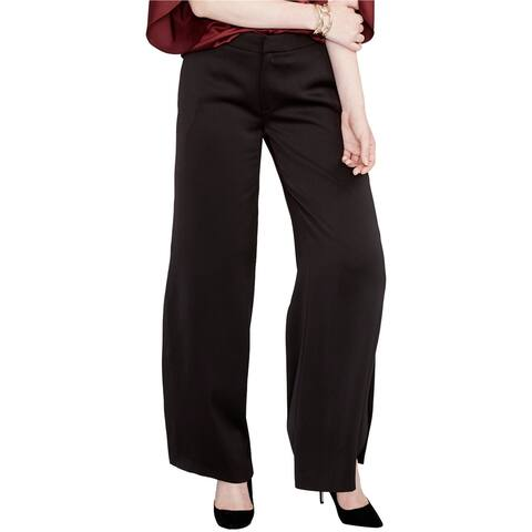 Rachel Roy Womens Side-Slit Dress Pants