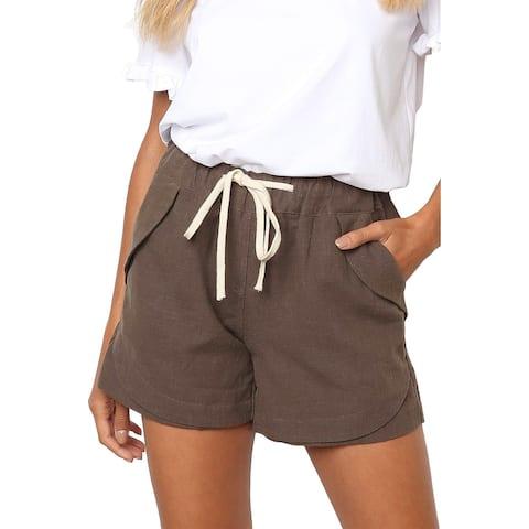 Brown Molly Shorts