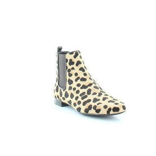 Tory Burch Orsay Bootie Women's Boots Leopard Print