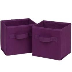 Purple -Mini Foldable Cubes