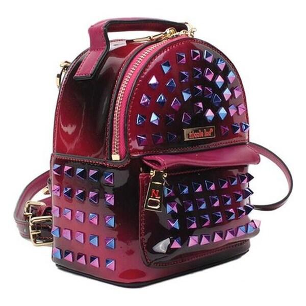 47ae47a799 Nicole Lee Women  x27 s Harlow Hologram Mini Backpack Purple - US Women