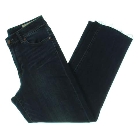 Vince Camuto Womens Straight Leg Jeans Denim High Rise