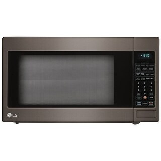 LG LCRT2010BD 2.0 CF Countertop Microwave Black Stainless Steel - black stainess steel