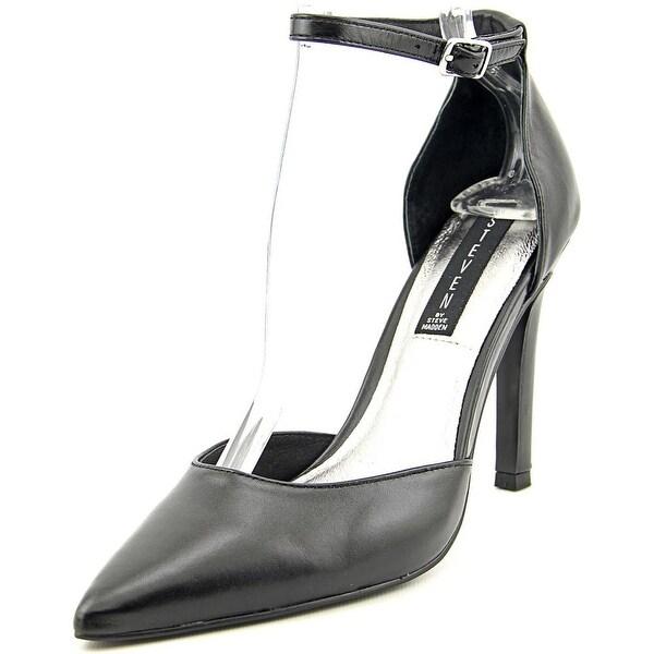 Steven Steve Madden Adell Women  Pointed Toe Leather Black Heels