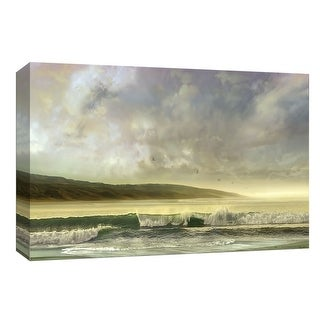 "PTM Images 9-148061  PTM Canvas Collection 8"" x 10"" - ""Soft Horizon"" Giclee Beaches Art Print on Canvas"