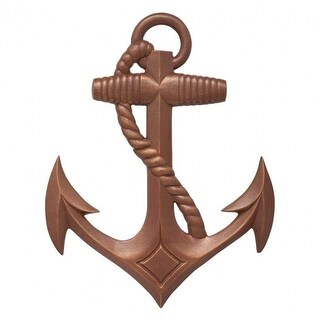 Whitehall Products Nautical Anchor Wall Décor Color: Classic Copper