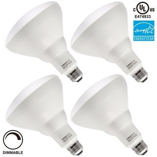 17W Dimmable BR40 LED Bulb, ENERGY STAR UL-listed, 1100lm, 3000K Warm White/4000K Cool White/5000K Daylight