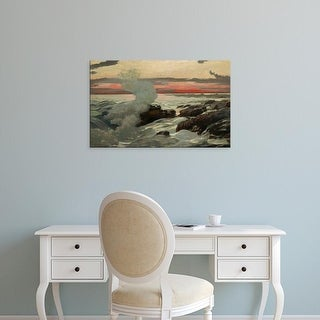 Easy Art Prints Winslow Homer's 'West Point' Premium Canvas Art