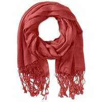 Gabriella Womens Jordana Rectangle Scarf Fringe Fashion - O/S