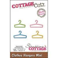 "Clothes Hangers 1.2""X.7"" & 1""X.7"" - Cottagecutz Mini Die"
