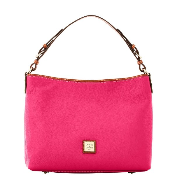 Dooney & Bourke Pebble Grain Large Courtney Sac (Introduced by Dooney & Bourke at $298 in Sep 2016) - Hot Pink