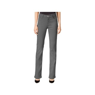 NYDJ Womens Marilyn Classic Straight Jeans Colored Stretch