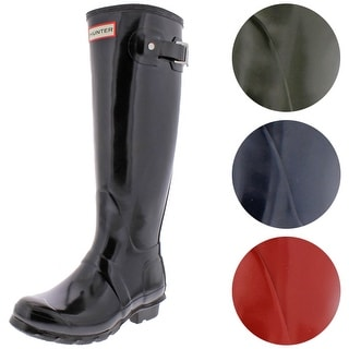 Link to Hunter Women's Original Tall Gloss Rain Boots Similar Items in Women's Shoes