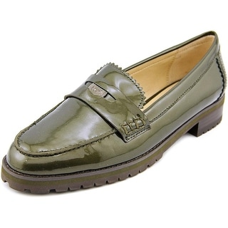 Coach Peyton Women Round Toe Patent Leather Loafer