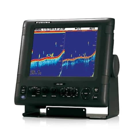 Furuno FCV-295 Fish Finder with 10.4 Color Display and White Edge function