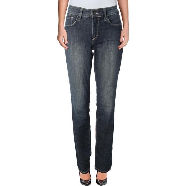 NYDJ Womens Alina Skinny Jeans Slimming Denim