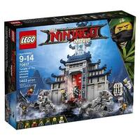LEGO(R) NINJAGO(TM) Movie Temple of the Ultimate Weapon (70617)