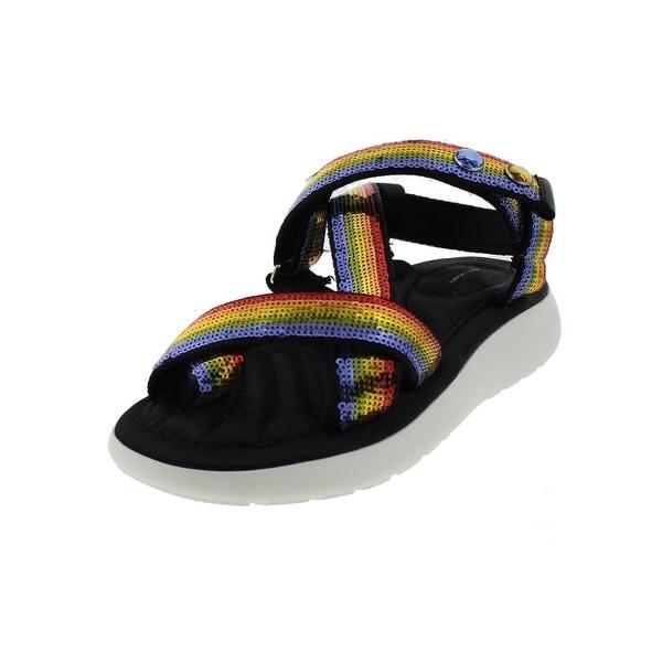 Marc Jacobs Womens Sport Sandals Criss Cross Open Toe - 6 medium (b,m)