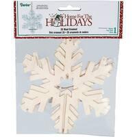 "3D Snowflake Ornament 6""-"