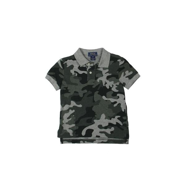 Boys Camo Lauren Ralph Polo Toddler Shirt 2EI9DH