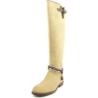 OTBT Trout Creek Women Round Toe Leather Knee High Boot