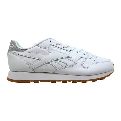 a6c8f6335e0 Reebok Classic Leather Met Diamon White Gum BD4423 Women s
