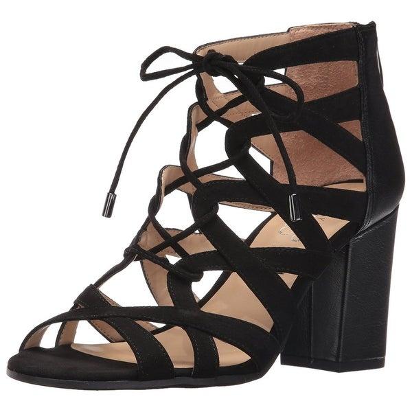 Franco Sarto Womens L-MEENA Open Toe Casual Strappy Sandals