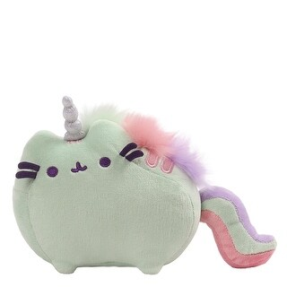 "Pusheenicorn Pusheen Unicorn 7.5"" Magical Sound Plush, Green - multi"
