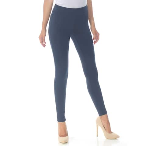 STYLE & CO Womens Navy Active Wear Leggings Petites Size: XS