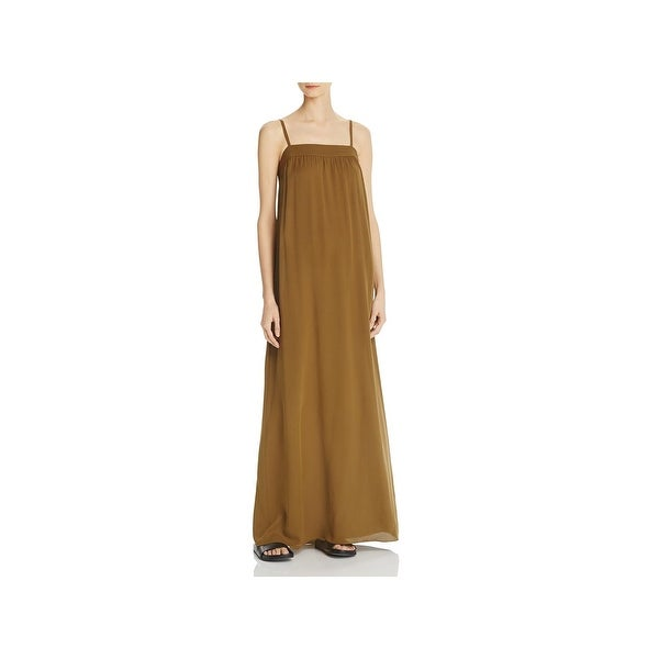 d9bc444a2d Shop Vince Womens Maxi Dress Silk Embroidered - s - Free Shipping ...