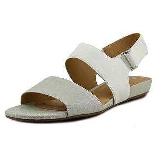 Naturalizer Lanna W Open-Toe Leather Slingback Sandal