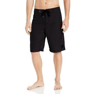 Hurley Mens One and Only Embroidered Swimwear Board Shorts