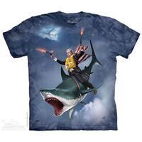 Dubya Riding A Shark T-Shirt