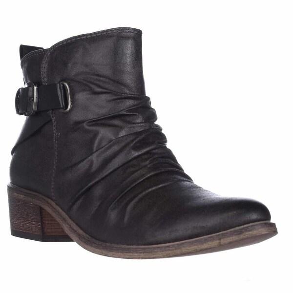 BareTraps Pennie Ankle Boots, Dark Grey