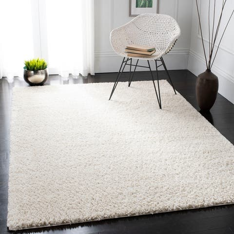 Safavieh August Shag Margeret Solid 1.25-inch Thick Rug