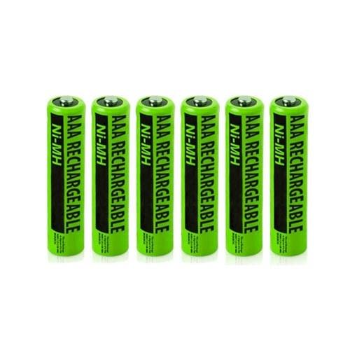 Replacement Panasonic KX-TGA470 NiMH Cordless Phone Battery - 630mAh / 1.2v (6 Pack)